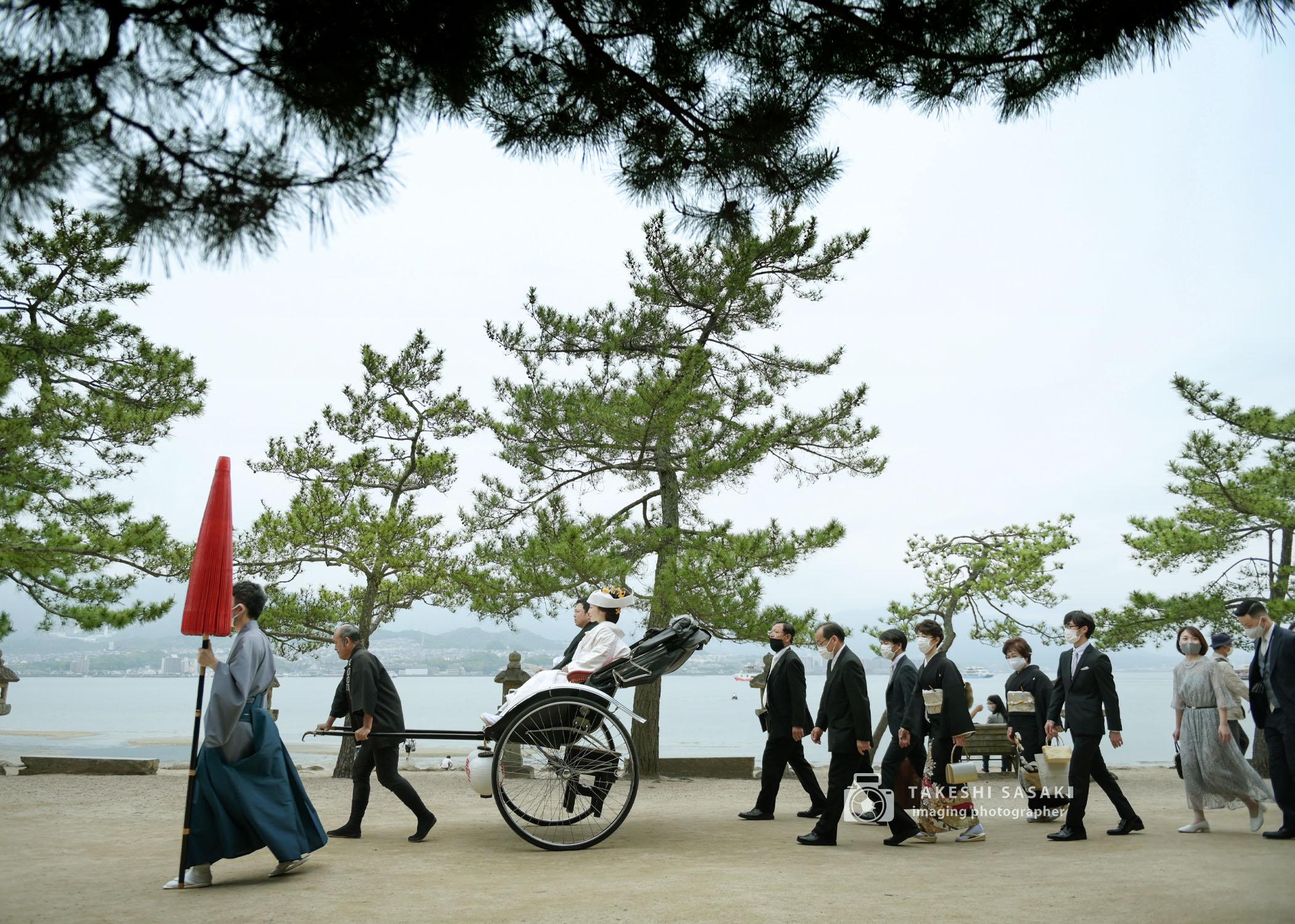 親族だけの宮島挙式が今おススメです(^-^)
